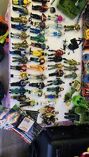 GI Joe Vintage Lot Of 50 Cobra Figures Six Flag Destro Cobra Lanard Vehicles
