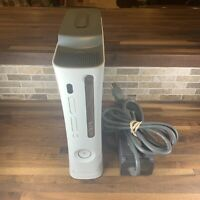 TESTED Microsoft Xbox 360 60GB HDD Console & Power Supply NICE CLEAN WORKING