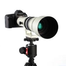 BIANCO 500mm f/6.3-f/32 Super Teleobiettivo per Canon EOS FULL FRAME APS-C DSLR