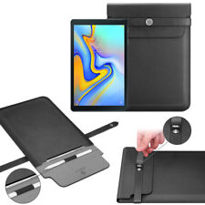"For Samsung Galaxy Tab A 10.5"" Tab S4 10.5"" Sleeve Pouch Case with Stylus Holder"
