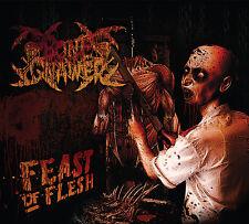 BONE GNAWER Feast Of Flesh DIGIPAK BLOODBATH AUTOPSY CANNIBAL CORPSE