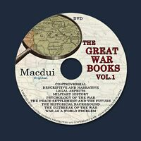 The Great War books WW1 World War 1 Vintage Books Collection 82 PDF EBooks DVD