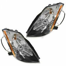 HID Xenon Headlights Headlamps Left & Right Lamp Pair Set for 03-05 Nissan 350Z