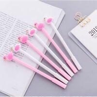 Cute 0.5 Mm School Office Supplies Stationery Flamingo Gel Pen Neutral Pen