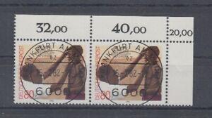 Bund  1146  Hilfswerk  waagerechtes Paar  KBWZ Tagesstempel Frankfurt ** (mnh)