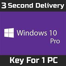 Windows 10 PRO 32 64BIT Professional della Licenza Chiave Codice Originale-PC di scarto