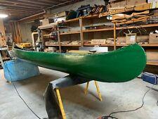 Old Town Canoe newly refurbished 17 foot historic Original parts
