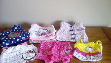 Huge Lot of Girls Hello Kitty Clothing 6 to 9 mos. Hoodies Pants Tops Onsies