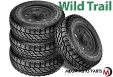 4 Multi-Mile Wild Trail CTX LT265/75R16 10-Ply/E All Season Van SUV Truck Tires