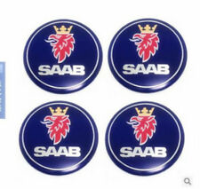 Lot of 4 Saab*9-3 9-5 93 95 900 9000 Wheel Center Caps Hubcaps65mm