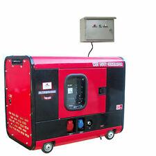 WM8000SS-1,Diesel-Stromerzeuger-Notstromaggregat,230V,7.8 kVA,IP54+super leise!