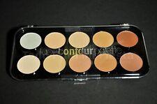 Contour Palette Beauty Treats Face Highlighter Bronzer Paleta Contorno Iluminado