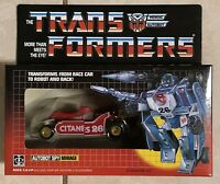 TRANSFORMERS G1 AUTOBOT RED & GOLD MIRAGE MISB! US SELLER VERY RARE!