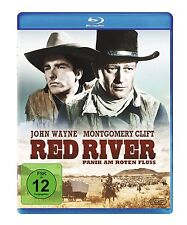 RED RIVER Howard Hawks JOHN WAYNE Montgomery Clift BLU-RAY Nuevo