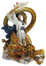Romance of the Three Kingdoms Zhuge Liang Riding Dragon collectible sculpture