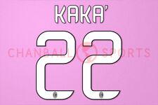 Kaka #22 2012-2014 AC Milan Homekit Nameset Printing