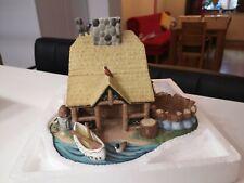 Partylite Teelichthaus Blockhütte