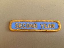 Girl Scout Patch - Second Year - New - Qty 1