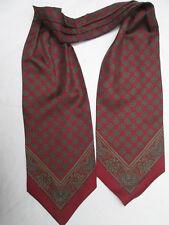 - AUTHENTIQUE écharpe plissée ALTEA  soie  TBEG  vintage Scarf