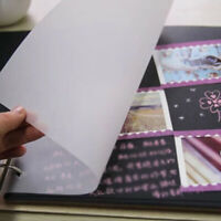 100 Translucent Tracing Paper Calligraphy Craft Writing Copying Drawing Sheet US