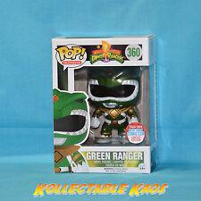 Power Rangers - Green Ranger Metallic Pop! Vinyl Figure - 2016 NYCC