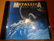 Metallica - Texas 1989 Live CD