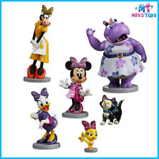 Disney Minnie Mouse Happy Helpers 6 piece Play Set cake topper Daisy Brand New