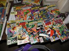 Defenders lot of 11 books #20 #41 #58 #72 #88 #88 #90 #98 #101 #102 GS #4
