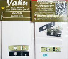 LANCIA 3ro PE, 3D, panel de instrumentos de colores para Ibg #3512 1/35 Yahu
