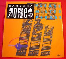 """Barbara Jones Please Mister.. 12"""" PC Lovers Charm Willie Lindo Living Easy VINYL"""