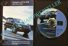 2003 2004 2005 MERCEDES ML320 ML350 ML500 ML55 (MCS I) NAVIGATION DVD OEM 2006.2