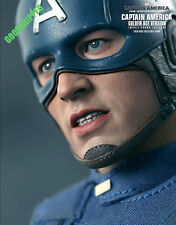 READY HOT TOYS 2014 CAPTAIN AMERICA 2 WINTER SOLDIER GOLDEN AGE MOVIE PROMO MISB