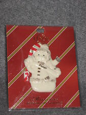 Lenox Personalized Snowman Christmas Tree Ornament Paige
