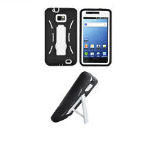 Kickstand Armor Hybrid Cover Case for Samsung Galaxy S2 S959G SGH-S959G Phone