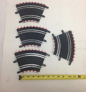 SCX 1/43 Compact (4) 45 Degree Standard Curve Track Pieces SCX70100