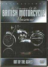 THE RESTORATION OF THE BRITISH MOTORCYCLE MUSEUM DVD - OUT OF THE ASHES!