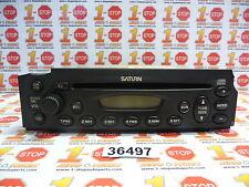 2002 2003 02 03 SATURN VUE AM/FM RADIO CD PLAYER 21025330 FEO