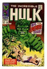 The Incredible Hulk #102 THE WORLDS MOST POWERFUL MORTAL High Grade WH