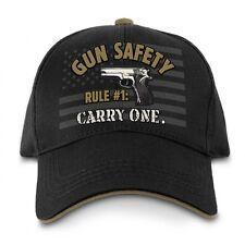 Buckwear Gun Safety Carry One America Flag Patriotic USA Adjustable Hat 9072