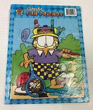 Garfield Animated Cardboard Puzzle Vintage 2002