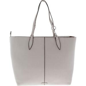 Rebecca Minkoff Womens Sherry Gray Tote Handbag Purse Extra Large BHFO 3070