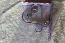 Large wrought iron Heart corbel