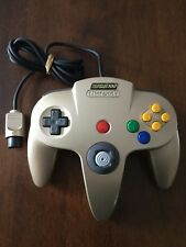 Official Nintendo 64 Nintendo Power 100 Gold Controller N64 genuine oem