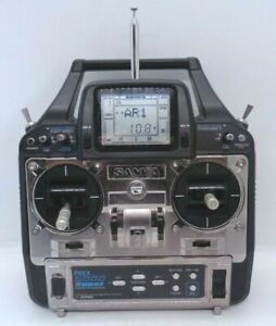 SANWA RD6000 SUPER 6 CHANNEL TRANSMITTER 35MHZ GOOD CONDITION MODE 2 + TX XTAL
