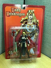 LADY PENDRAGON Blond in Black by Matt Hawkins Action Toys Action Figure 1999 NEW