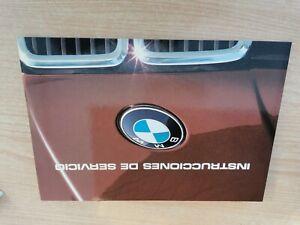 Manual de usuario BMW E30 Serie 3 PRE NUEVO. En Español.