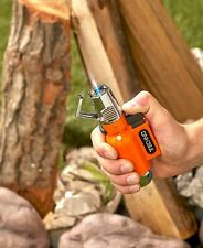 XXL Mega Flip Top Torch Lighter Great For Grills Campfires Wind Resistant Orange