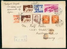 Mayfairstamps Japan 1950s Commemortives & Airmail to Germany Cover wwf47065