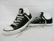 CONVERSE All Star Chuck Taylor Low Top Trainers, Black, Size UK 5, Eur 37.5
