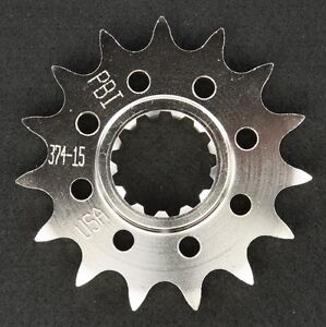 PBI - 374-15 -  Front Countershaft Sprocket, 15T - Made In USA